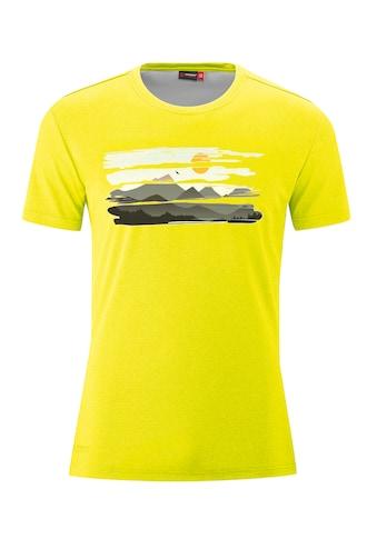 Maier Sports Funktionsshirt »MountView Tee«, Funktionales T-Shirt mit natürlichem... kaufen