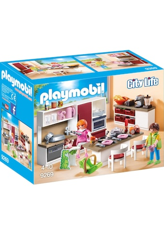 Playmobil® Konstruktions-Spielset »Große Familienküche (9269), City Life«, Made in... kaufen
