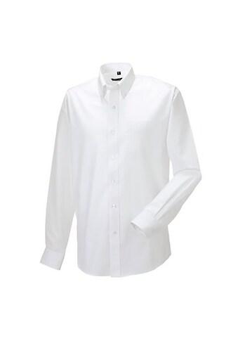 Russell Langarmhemd »Oxford Herren Hemd, langärmlig, pflegeleicht« kaufen
