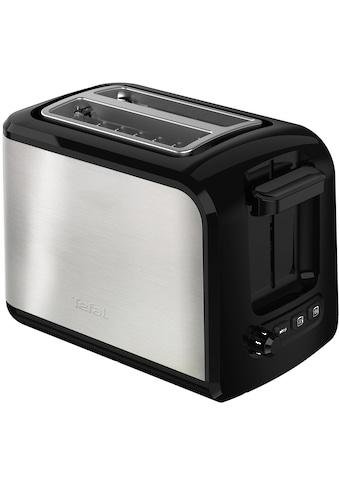 Tefal Toaster »TT411D Express Edelstahl«, für 2 Scheiben, 850 Watt kaufen