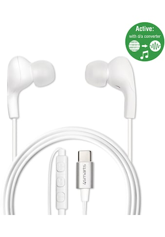 4smarts Headset »Akt. In-Ear Stereo Headset Melody USB Typ-C« kaufen