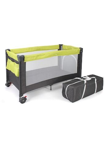 CHIC4BABY Baby-Reisebett »Luxus, Lemongreen« kaufen