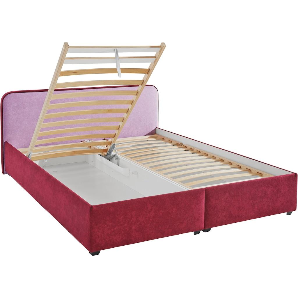 Maintal Polsterbett, wahlweise mit Bettkasten