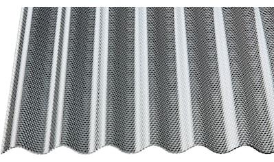 GUTTA Wellplatte »GUTTACRYL«, Acryl graphit, Wabe, BxL: 104x200 cm kaufen