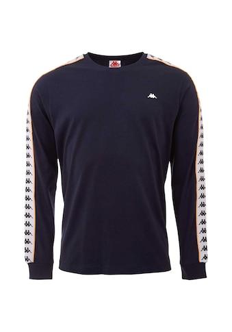 Kappa T-Shirt »HAIMO«, mit hochwertigem Logoband an den Ärmeln kaufen