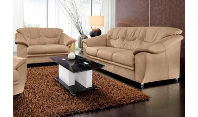 sit&more Polstergarnitur, (2-tlg.), bestehend aus je einem 2- und 3-Sitzer, inklusive Federkern kaufen