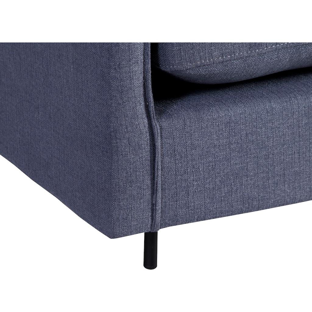 ATLANTIC home collection 3-Sitzer, Sofa, skandinvisch im Design, extra weich und kuschelig, Füllung mit Federn