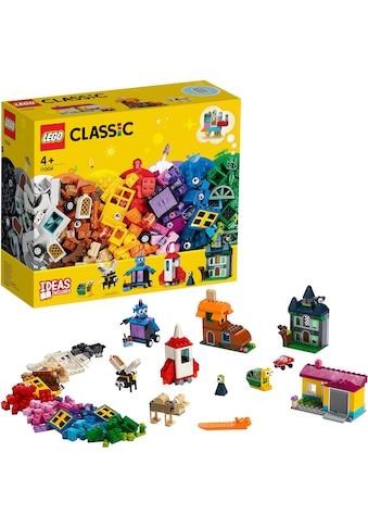 """LEGO® Konstruktionsspielsteine """"Bausteine  -  kreativ mit Fenstern (11004), LEGO®Classic"""", Kunststoff, (450 - tlg.) kaufen"""