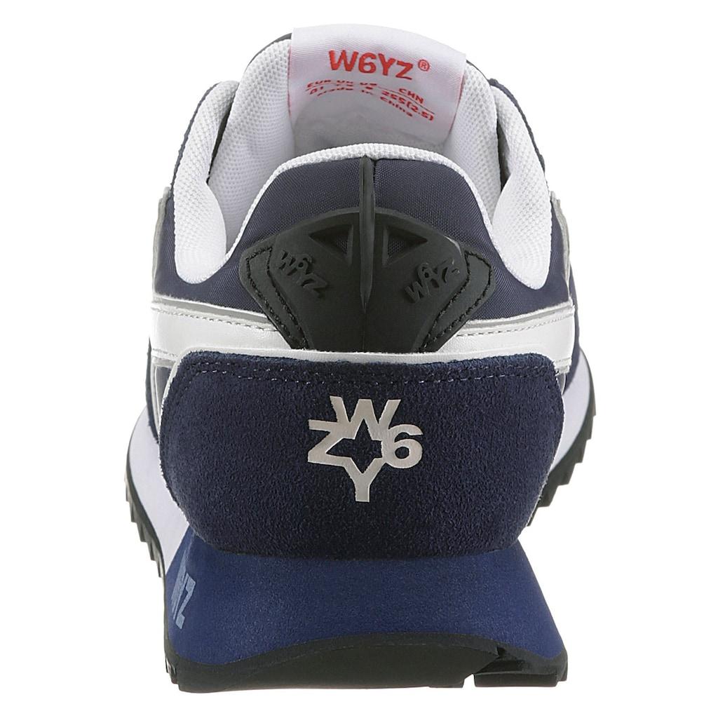 W6YZ Sneaker »Jet M«, im Materialmix