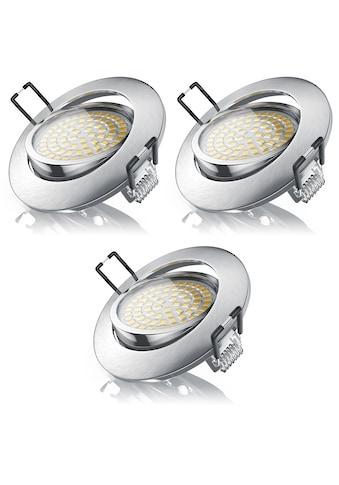 Brandson 3x LED Deckenspot mit Aluminium Druckgussrahmen kaufen