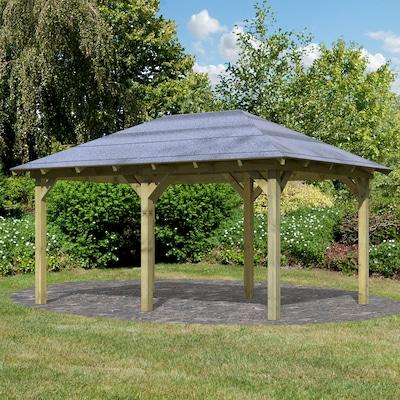 feststehender Gartenpavillon