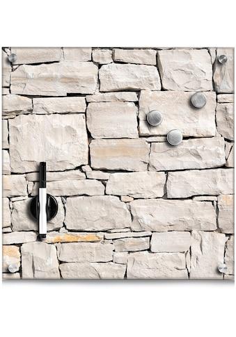 Zeller Present Magnettafel »Stone«, Memoboard, aus Glas, Stein Motiv kaufen