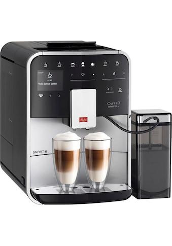 Melitta Kaffeevollautomat »CAFFEO Barista TS Smart® F85/0-101, silberfarben/schwarz« kaufen