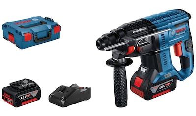 Bosch Professional Akku-Bohrhammer »GBH 18V-21 Professional«, (Set), kabelloser... kaufen