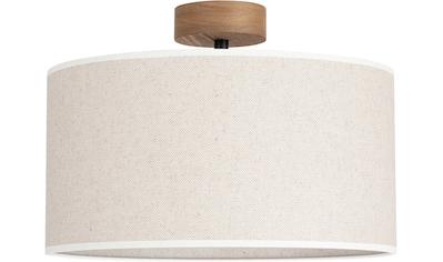 OTTO products Deckenleuchte »Emmo«, E27, 1 St., Hochwertiger Leinen-Baumwoll... kaufen