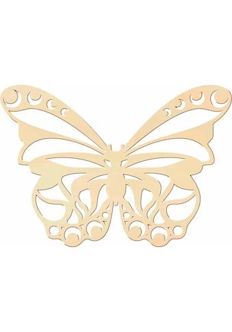 Wall-Art Dekoobjekt »Schmetterling«, Wanddeko, aus Holz kaufen