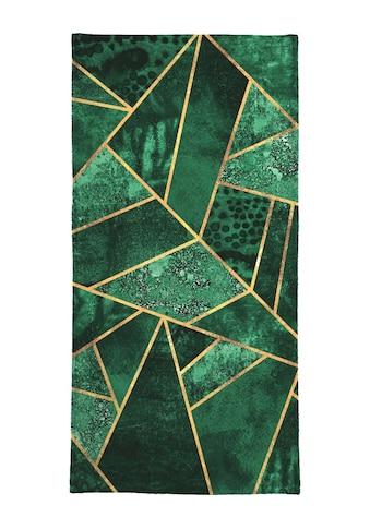 "Handtuch ""Deep Emerald"", Juniqe kaufen"