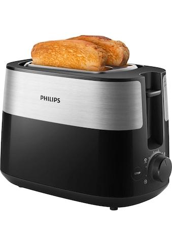 Philips Toaster »Daily Collection HD2516/90«, 2 kurze Schlitze, 830 W kaufen