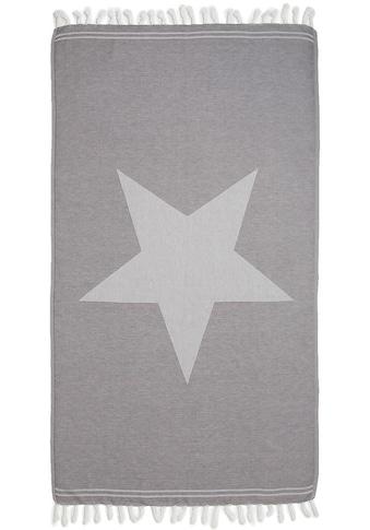 Seahorse Hamamtuch »Asteris«, (1 St.), mit großem Stern kaufen