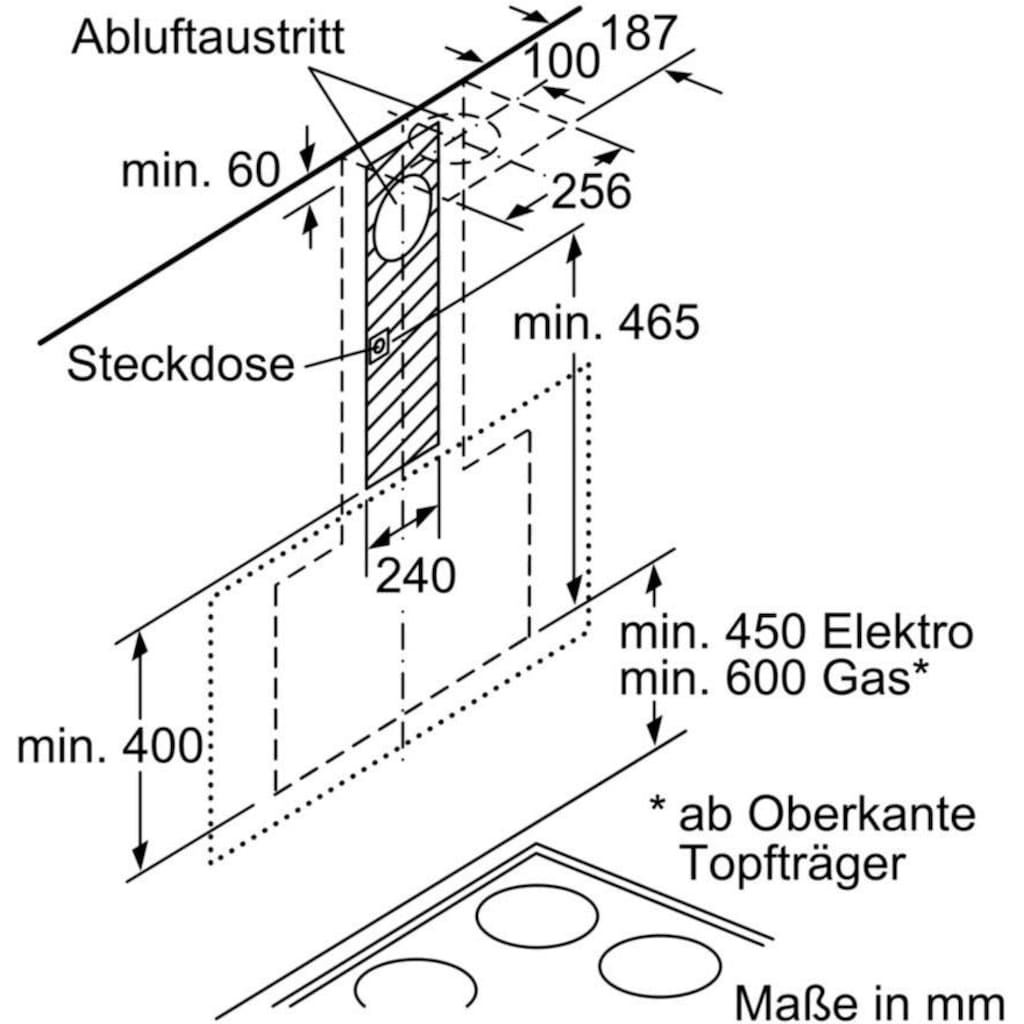 SIEMENS Kopffreihaube »LC98KLP60«, Serie iQ500