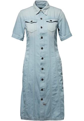 G-Star RAW Jeanskleid »Denim dress«, mit durchgehender Knopfleiste kaufen