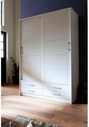 Premium collection by Home affaire Schiebetürenschrank »Progress«, aus massivem... kaufen