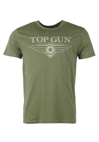 TOP GUN T-Shirt »TG20201045«, sportlicher Schnitt kaufen