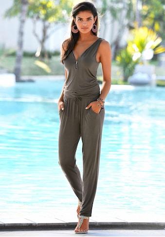 LASCANA Overall, mit Zipperdetail kaufen