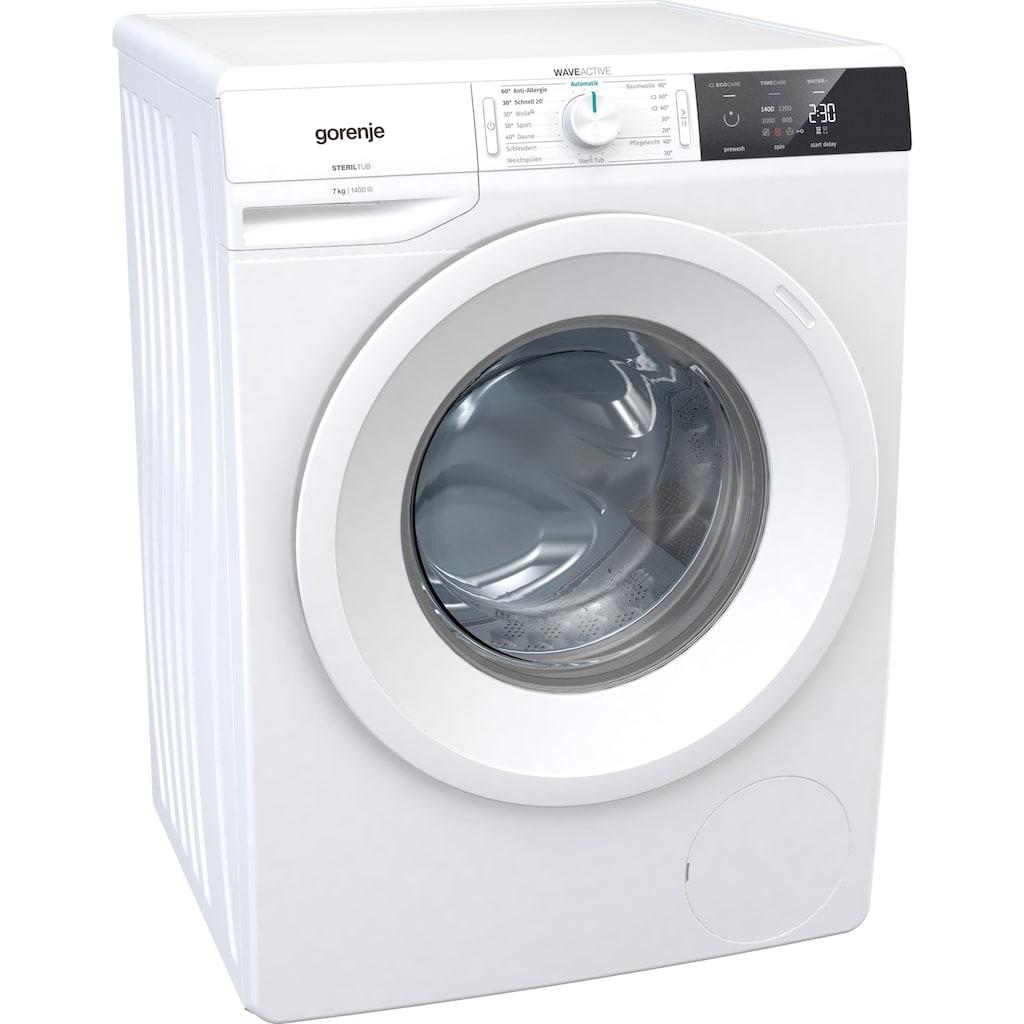 GORENJE Waschmaschine »WE 743 P«, WE743P, 7 kg, 1400 U/min