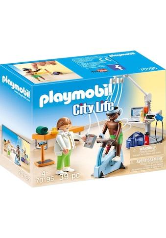 Playmobil® Konstruktions-Spielset »Beim Facharzt: Physiotherapeut (70195), City Life«,... kaufen