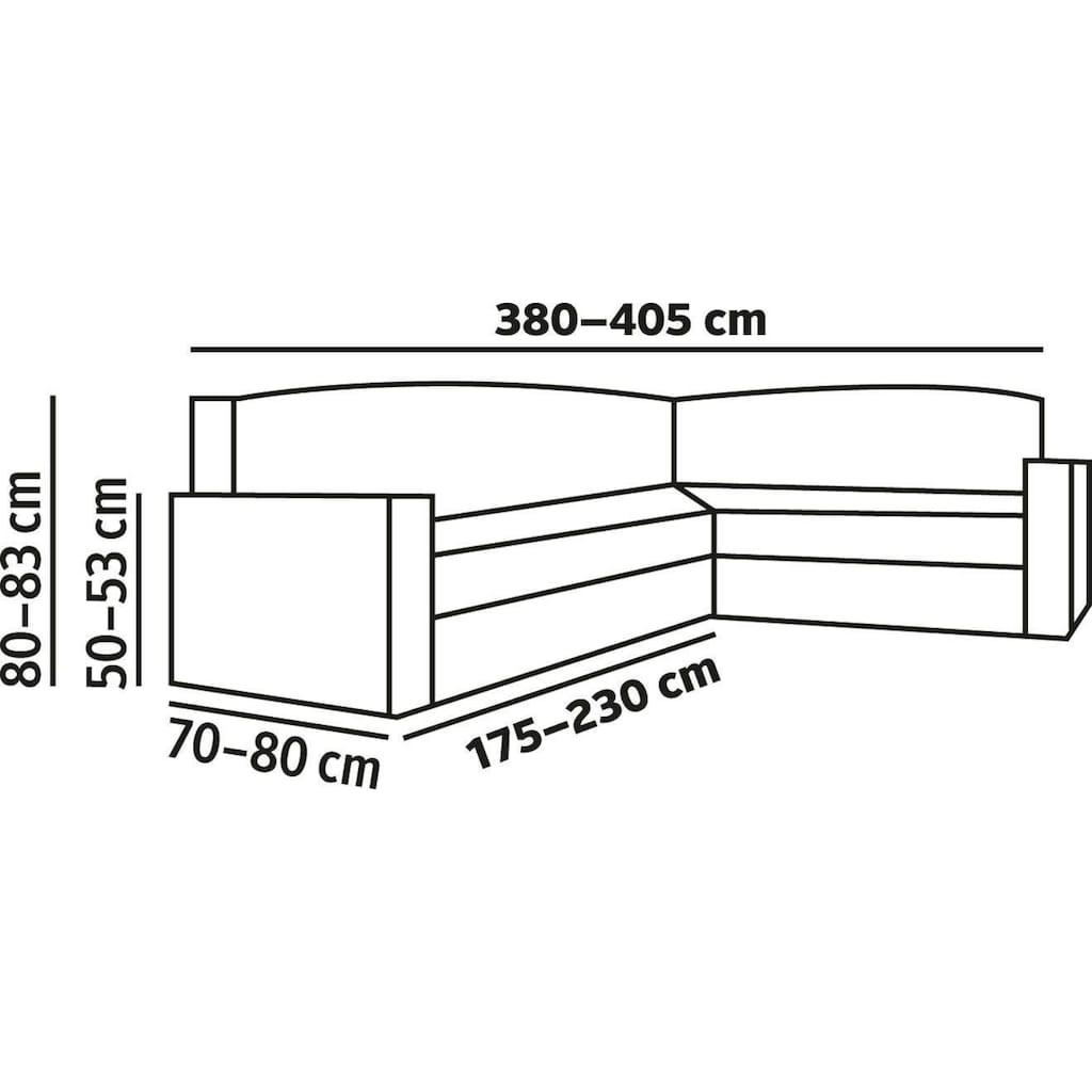 Dohle&Menk Sofahusse »Teide«, monoelastische Stretchware mit hohem Baumwollanteil
