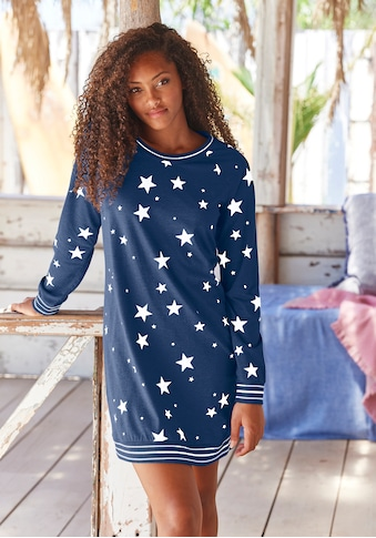 Vivance Dreams Sleepshirt, mit angesagtem Sternedruck kaufen