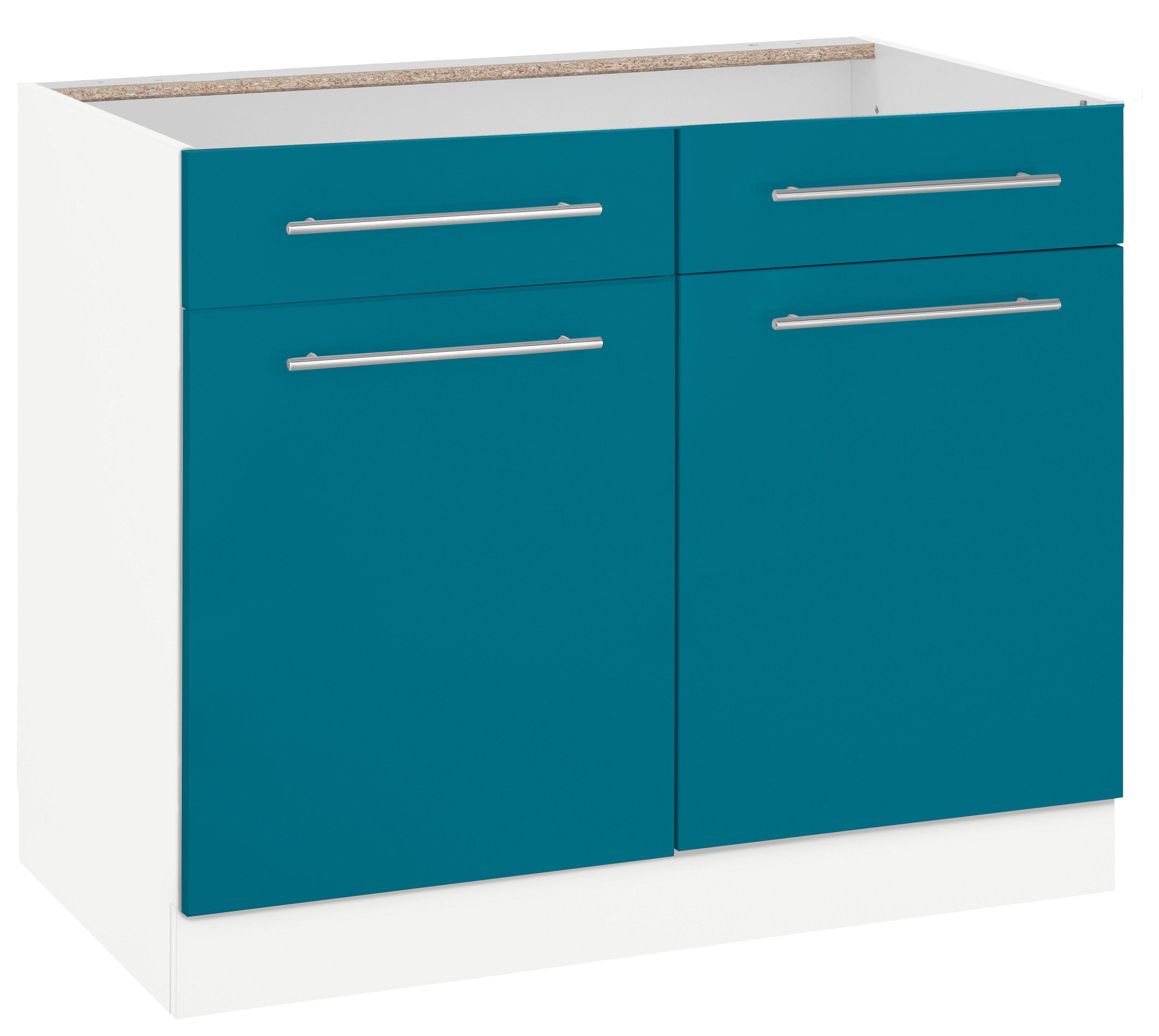 WIHO-Küchen Unterschrank »Flexi2«, Breite 100 cm
