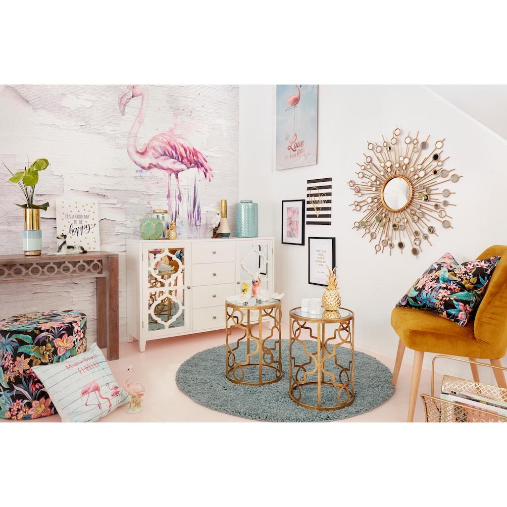 Home affaire Dekospiegel, mit dekorativen Spiegelelementen
