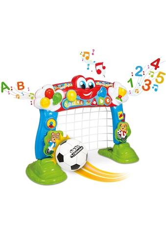 Clementoni® Lernspielzeug »Baby Clementoni - Interaktives Fußballtor«, mit Ball und... kaufen