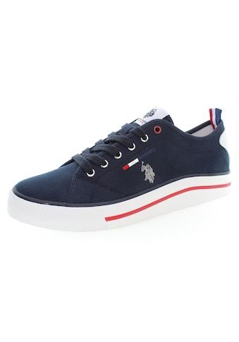 U.S. Polo Assn Sneaker »WAVE«, mit farbigem Besatz an der Sohle kaufen
