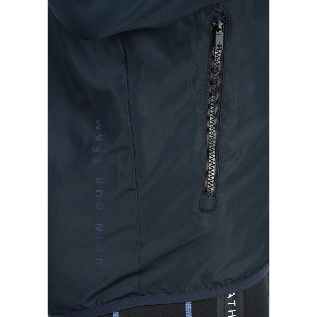 BLEND ATHLETICS Trainingsjacke »Minato«, Sportjacke mit hochabschließendem Kragen