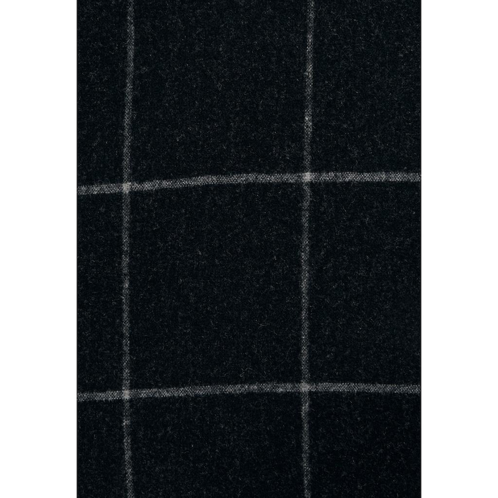 seidensticker Longbluse »Schwarze Rose«, Langarm Kragen Karo