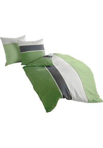 BIERBAUM Bettwäsche »Green Stripes«, mit Streifen kaufen