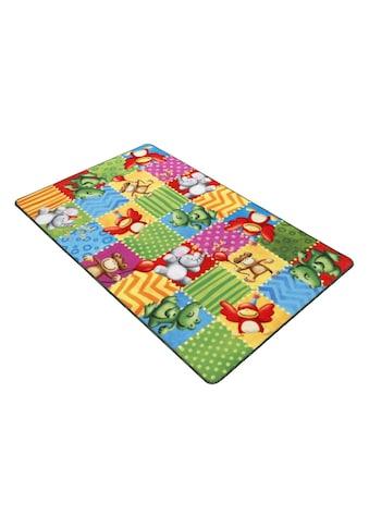 Böing Carpet Fußmatte »Lovely Kids LK-5«, rechteckig, 2 mm Höhe, Schmutzfangmatte,... kaufen