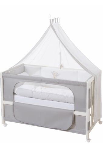 roba® Babybett »Room bed - Dekor Heartbreaker«, als Beistell-, Kinder- und Juniorbett... kaufen