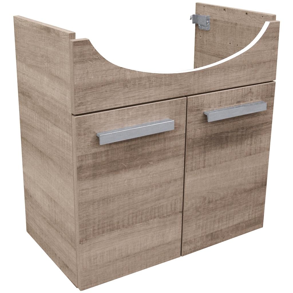 FACKELMANN Waschbeckenunterschrank »A-Vero«, Breite 62,5 cm