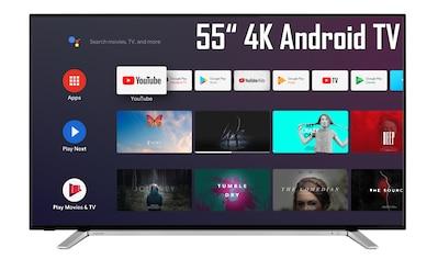 "Toshiba LED-Fernseher »55UA2B63DG«, 139 cm/55 "", 4K Ultra HD, Google... kaufen"