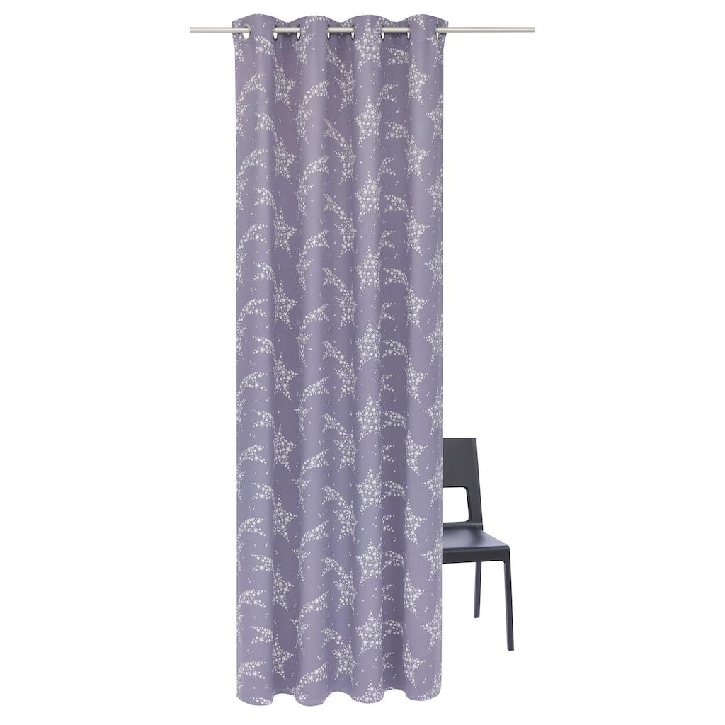 Vorhang »Sternschnuppe«, Weihnachtsgardine