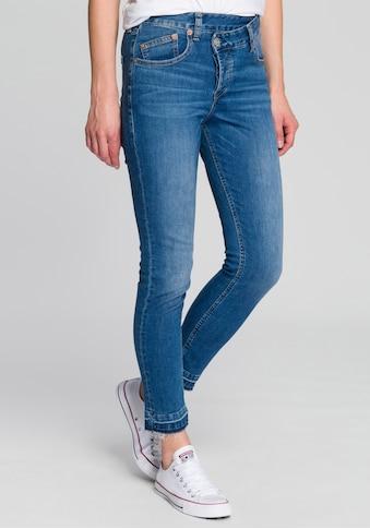 Herrlicher Slim - fit - Jeans »MÄZE SLIM CROPPED« kaufen