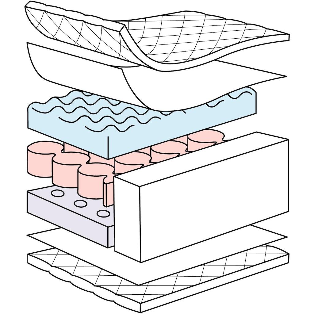 Julius Zöllner Kindermatratze »Dr. Lübbe Softbox«, 10 cm cm hoch, (1 St.), neue Softbox Technologie