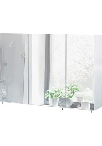 Schildmeyer Spiegelschrank »Basic«, Breite 120 cm, 3-türig, Glaseinlegeböden, Made in... kaufen