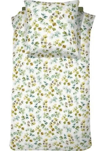 Cinderella Bettwäsche »Fianne«, mit bunten Blättern kaufen
