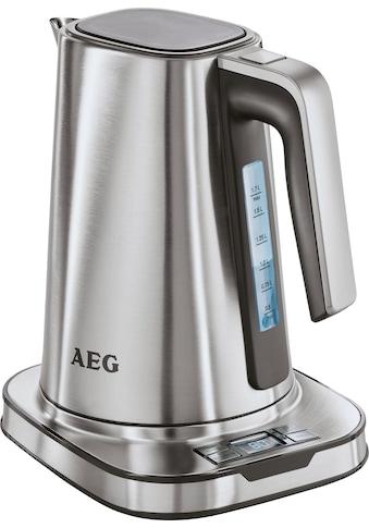 AEG Wasserkocher, EWA 7800, 1,7 Liter, 2400 Watt kaufen