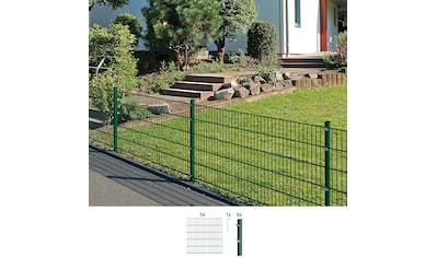 GAH Alberts Doppelstabmattenzaun, 160 cm hoch, 5 Matten für 10 m, 6 Pfosten kaufen